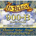 LaBella 900B Black Nylon and Polished Golden Alloy Classical Guitar Strings