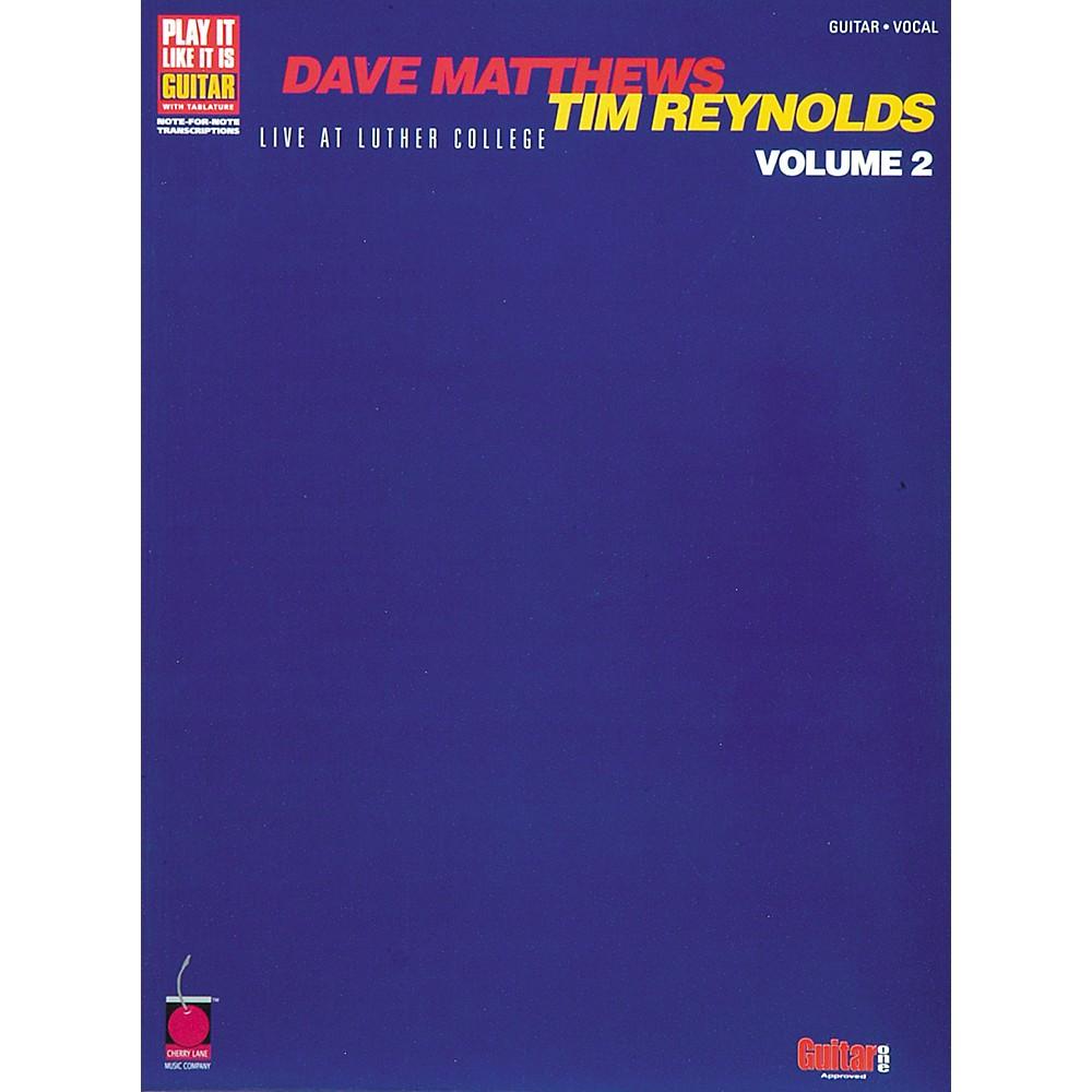 Live At Luther College — Dave Matthews & Tim Reynolds ...
