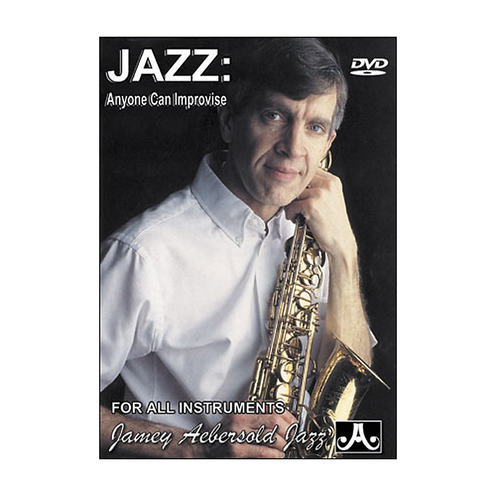 Jamey Aebersold Jazz - Anyone Can Improvise DVD