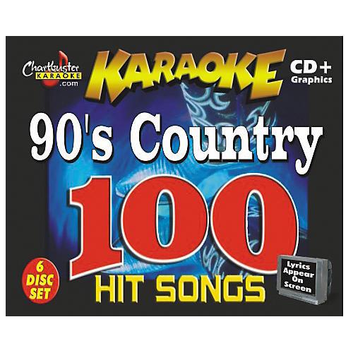 Chartbuster Karaoke 90's Country CD+G-thumbnail