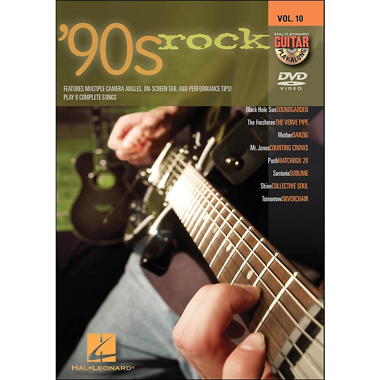 Hal Leonard 90s Rock - Guitar Play-Along DVD Volume 10