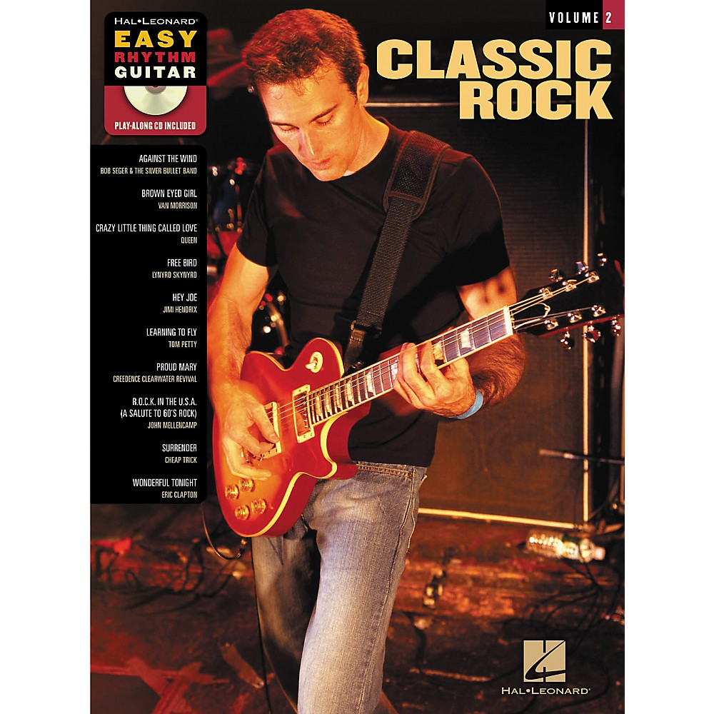 Classic Book Cover Guitar ~ Sheet music song books hal leonard classic rock easy