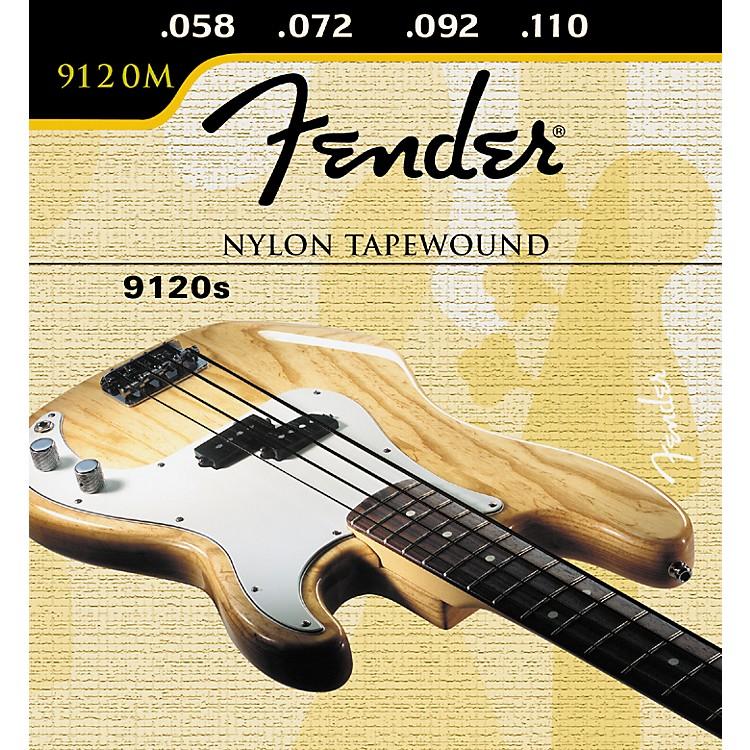 Fender9120 Nylon Tapewound Bass Strings