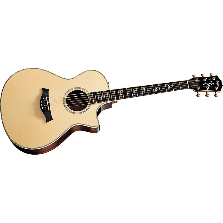 Taylor 912ce-L Rosewood/Spruce Grand Concert Left-Handed Acoustic-Electric Guitar