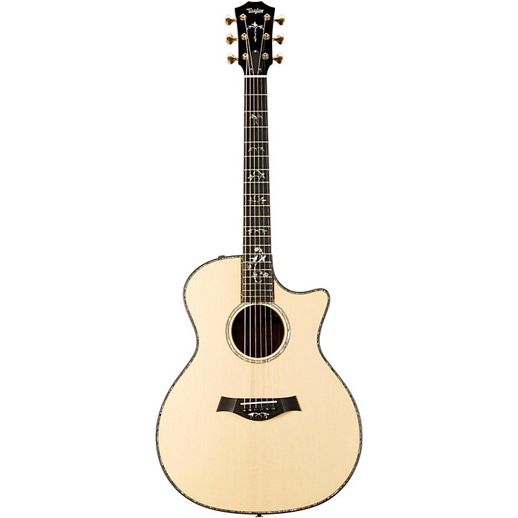 Taylor914ce Grand Auditorium Cutaway ES2 Acoustic Electric GuitarNatural
