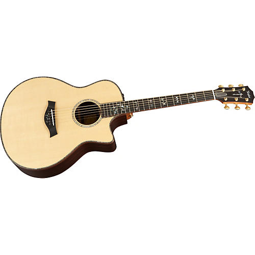 Taylor 916ce-L Rosewood/Spruce Grand Symphony Left-Handed Acoustic-Electric Guitar-thumbnail