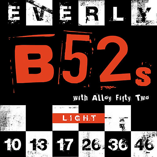Everly 9210 B-52 Rockers Alloy Light Electric Guitar Strings-thumbnail