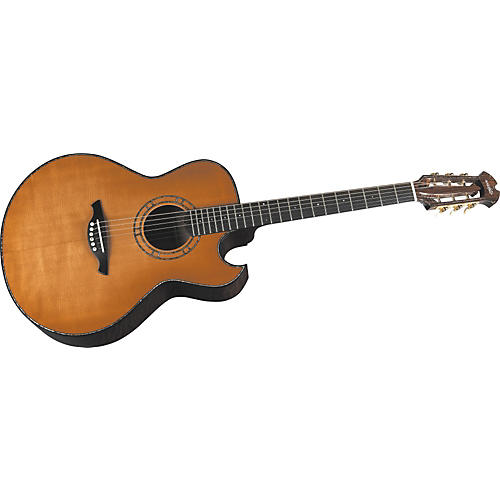 Wechter Guitars 9300C Florentine Cutaway Steel String Acoustic-Electric Guitar-thumbnail