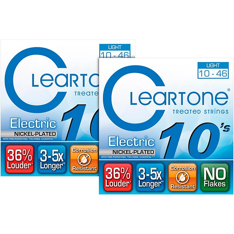 Cleartone 9410 Treated Light Electric Guitar Strings (2-Pack)