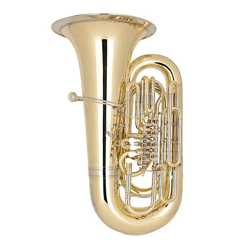 Miraphone 98 Siegfried Series 5-Valve 6/4 BBb Tuba Lacquer Yellow Brass Body