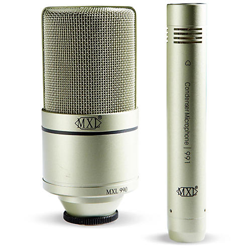 MXL 990/991 Recording Microphone Package-thumbnail