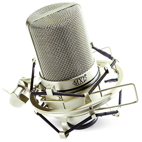 MXL 990 Condenser Microphone with Shockmount-thumbnail