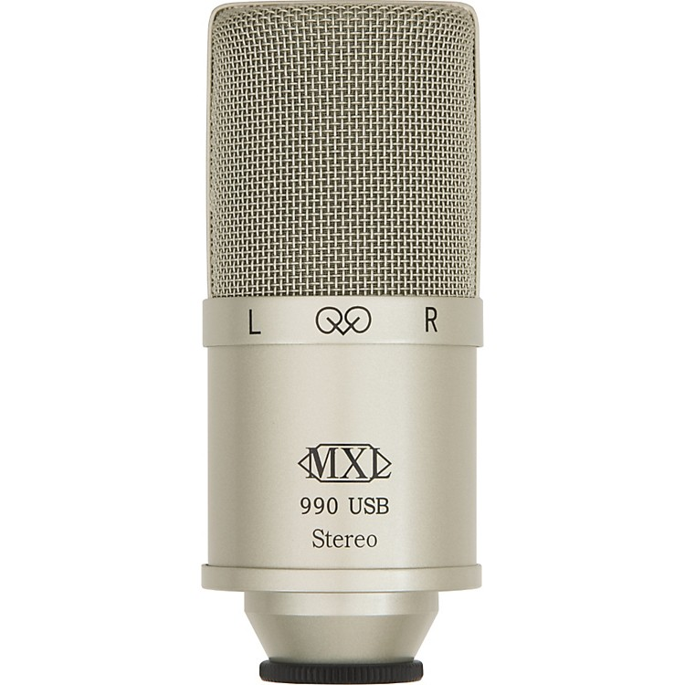 MXL 990 USB Stereo Condenser Microphone