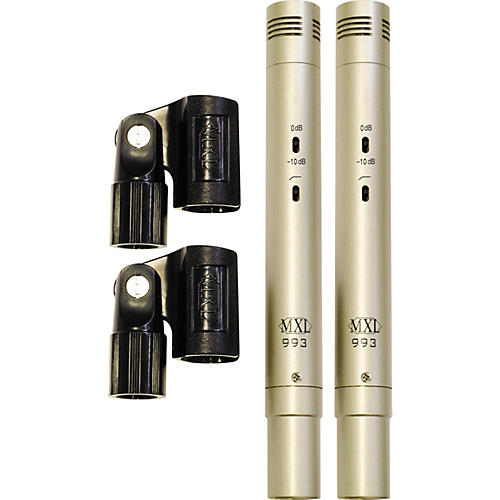 MXL 993 Condenser Microphones Stereo Pair