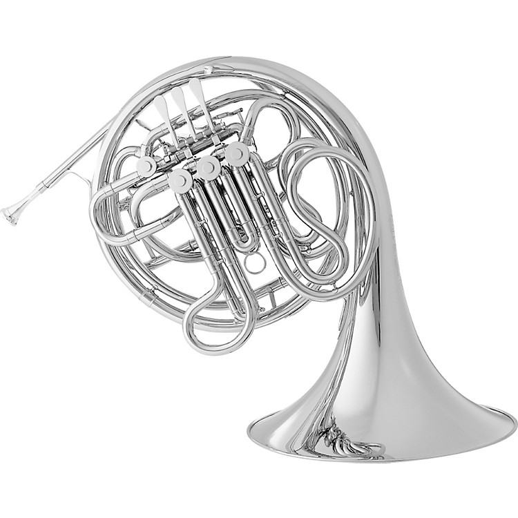 Conn 9D CONNstellation Series Fixed Bell Double Horn Nickel Silver Fixed Nickel Silver Bell
