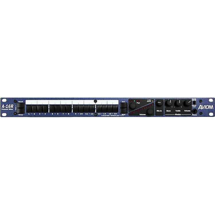 Aviom A-16R Rack Mount Personal Mixer