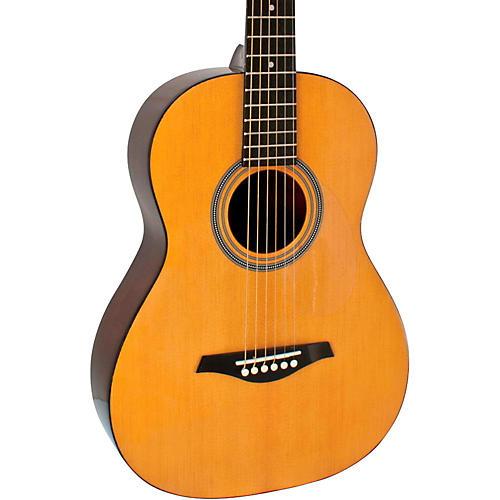 hohner a 3 4 size steel string acoustic guitar natural musician 39 s friend. Black Bedroom Furniture Sets. Home Design Ideas