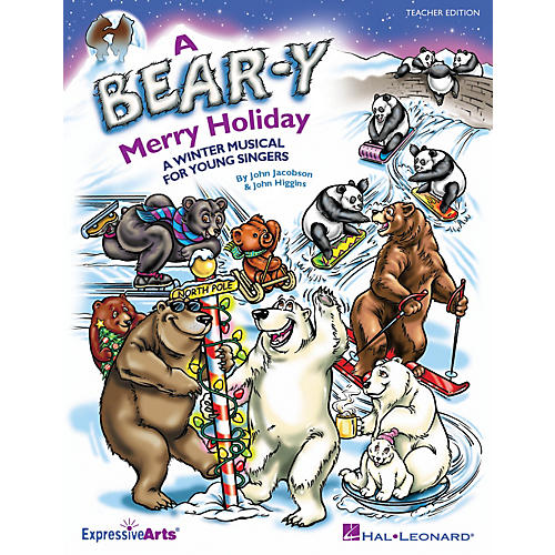 Hal Leonard A Bear-y Merry Holiday (A Winter Musical for Young Singers) CLASSRM KIT Composed by John Higgins-thumbnail