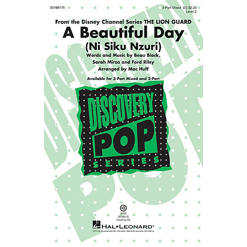 Hal Leonard A Beautiful Day (Discovery Level 2) VoiceTrax CD Arranged by Mac Huff