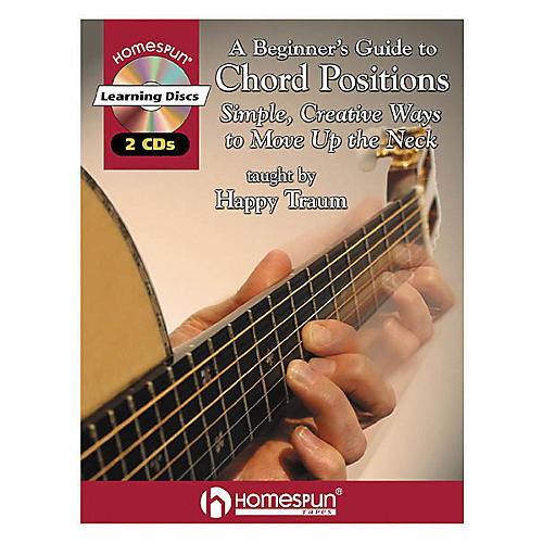 Homespun A Beginner's Guide to Chord Positions (Book/CD)