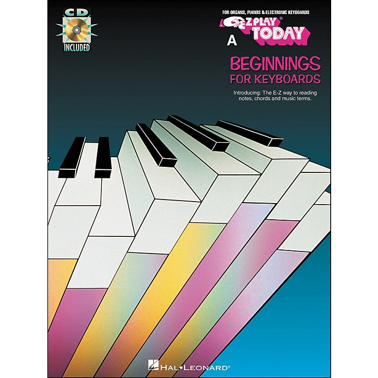Hal Leonard A Beginnings Keyboards Book/CD E-Z Play