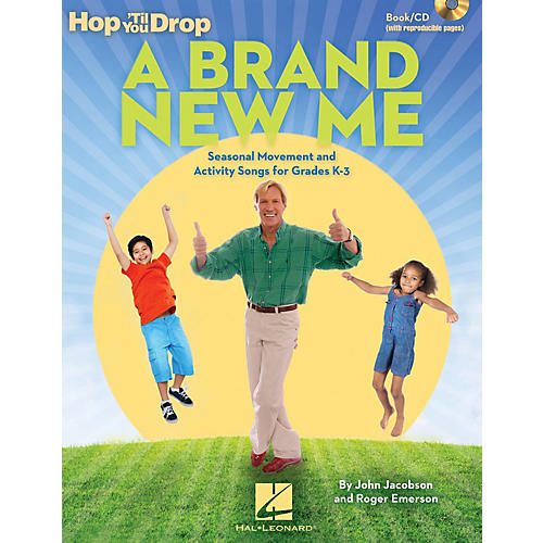 Hal Leonard A Brand New Me Teacher Magazine w/CD Composed by John Jacobson-thumbnail