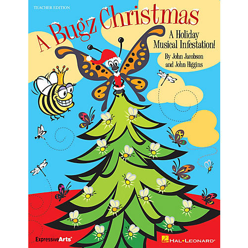 Hal Leonard A Bugz Christmas (A Holiday Musical Infestation!) CLASSRM KIT Composed by John Higgins-thumbnail