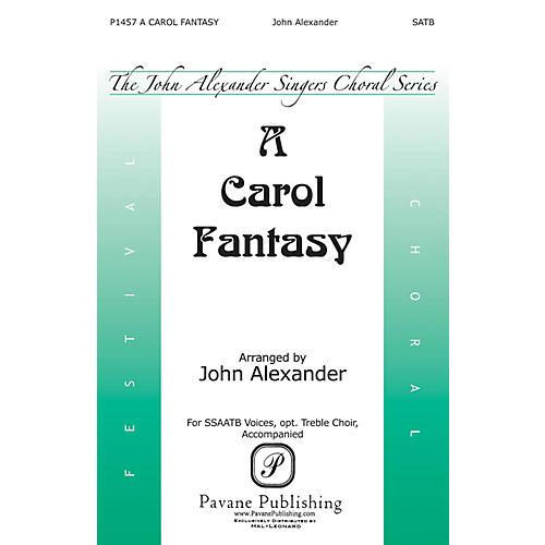 Pavane A Carol Fantasy SSAATB arranged by John Alexander