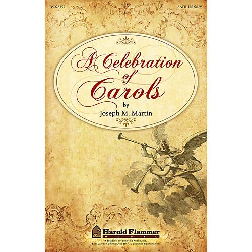 Shawnee Press A Celebration of Carols REHEARSAL TX Composed by Joseph Martin-thumbnail