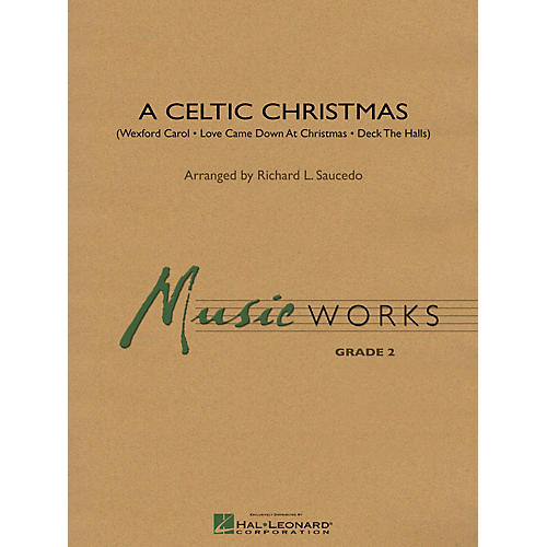 Hal Leonard A Celtic Christmas Concert Band Level 2 Arranged by Richard L. Saucedo-thumbnail