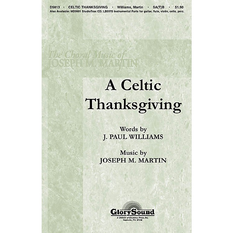 Hal Leonard A Celtic Thanksgiving SATB