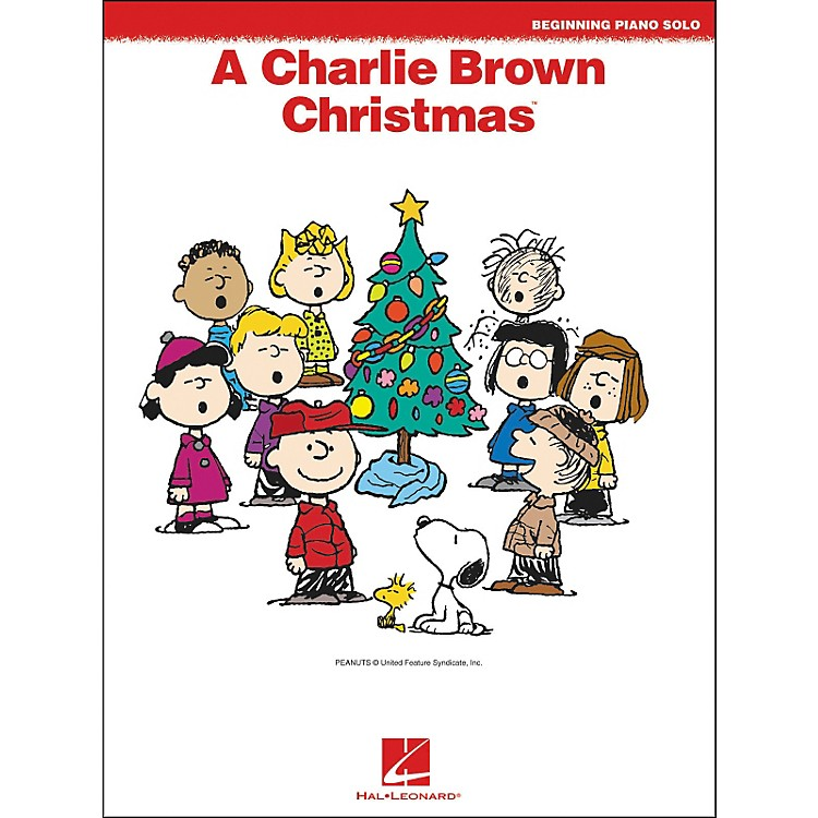 Hal Leonard A Charlie Brown Christmas Beginning Piano Solos