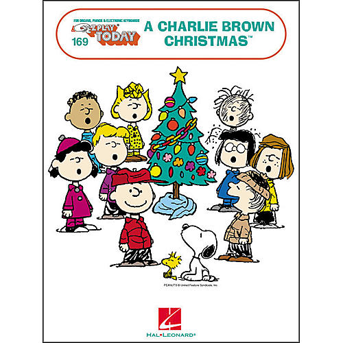 Hal Leonard A Charlie Brown Christmas E-Z Play 169