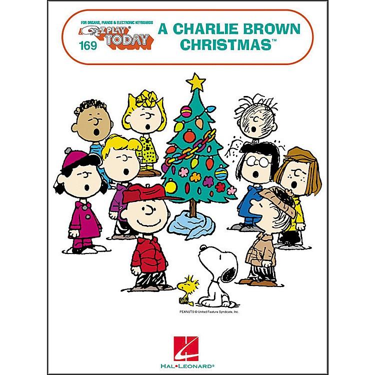 Hal LeonardA Charlie Brown Christmas E-Z Play 169
