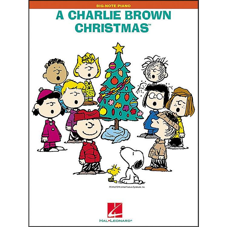 Hal LeonardA Charlie Brown Christmas for Big Note Piano