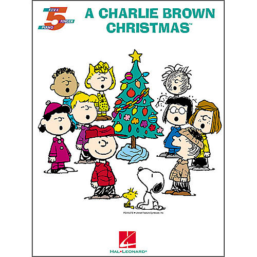 Hal Leonard A Charlie Brown Christmas for Five Finger Piano