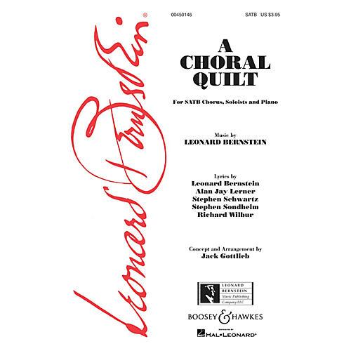 Leonard Bernstein Music A Choral Quilt SATB Arranged by Jack Gottlieb-thumbnail