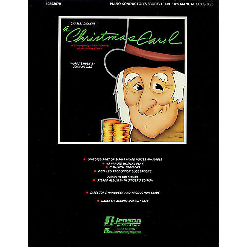 Hal Leonard A Christmas Carol (A Holiday Musical Classic) 2-Part Composed by John Higgins