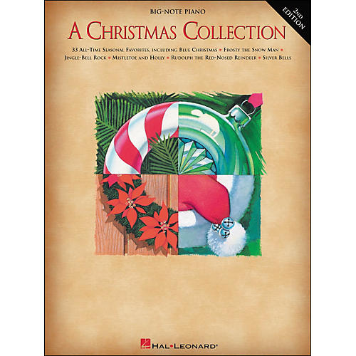Hal Leonard A Christmas Collection for Big Note Piano 2nd Edition-thumbnail