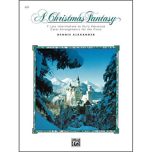 Alfred A Christmas Fantasy