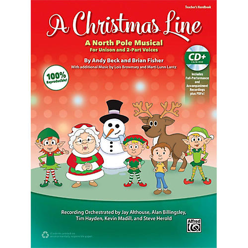 Alfred A Christmas Line CD Kit Book & Enhanced CD
