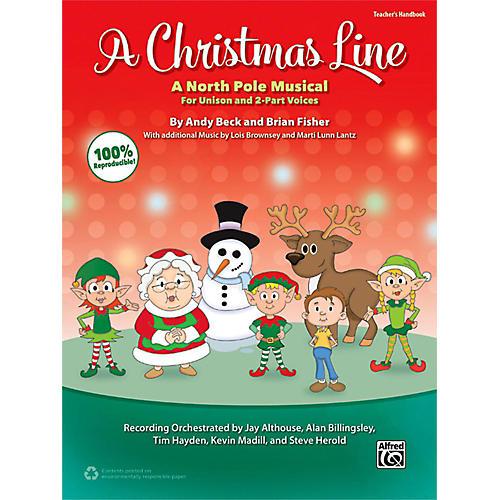 Alfred A Christmas Line Teacher's Handbook-thumbnail