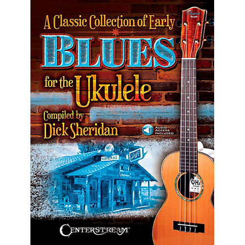 Centerstream Publishing A Classic Collection of Early Blues for the Ukulele Book/Audio Online-thumbnail