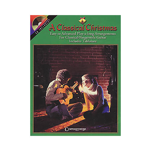 Centerstream Publishing A Classical Christmas Guitar Tab Songbook with CD