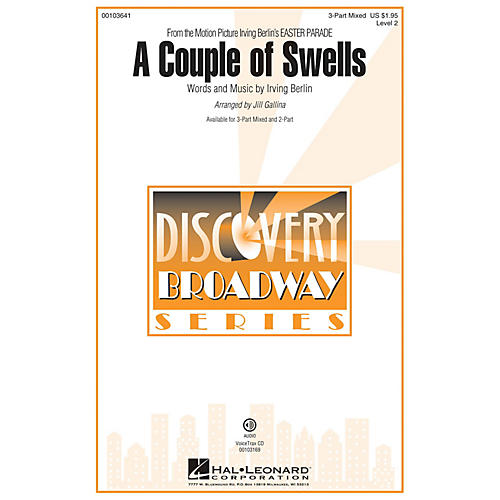 Hal Leonard A Couple of Swells (from Easter Parade) Discovery Level 2 arranged by Jill Gallina