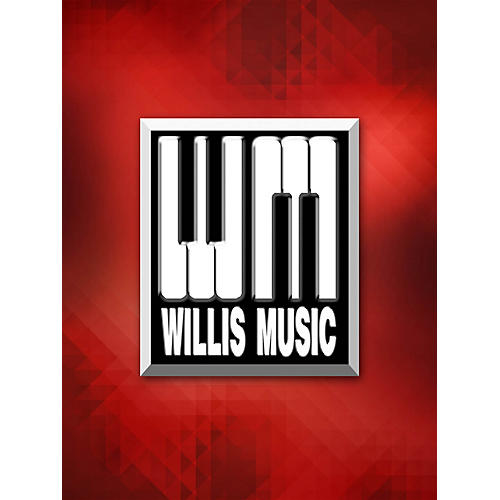 Willis Music A Dance for Two (1 Piano, 4 Hands Later Elem Level) Willis Series by David Karp-thumbnail