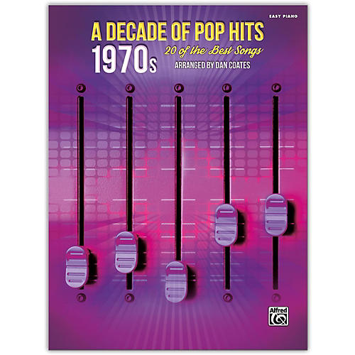 Alfred A Decade of Pop Hits: 1970s Easy Piano Songbook-thumbnail