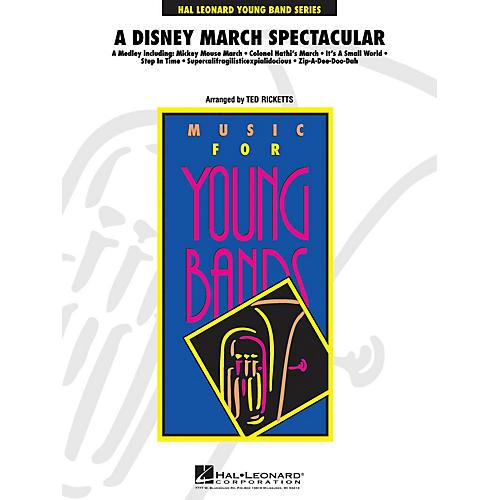 Hal Leonard A Disney March Spectacular Full Score Concert Band