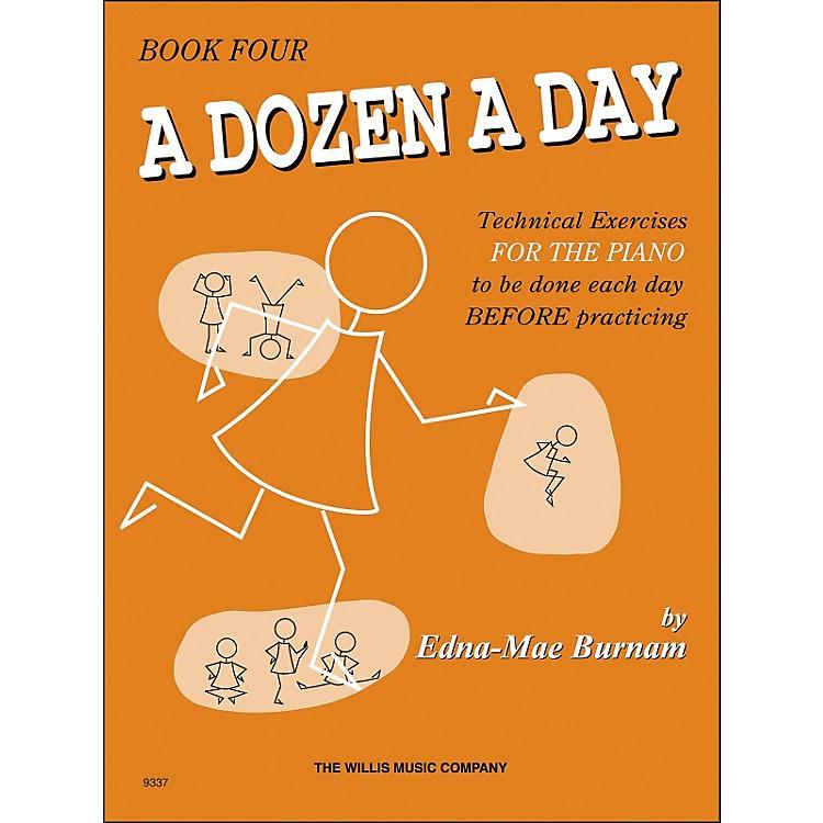 Willis MusicA Dozen A Day Book 4 Technical Exercises for Piano