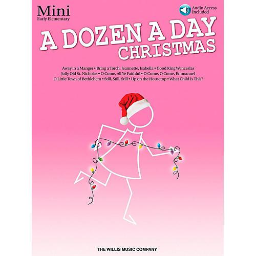 Hal Leonard A Dozen A Day Christmas Songbook - Mini (Book/Audio On-Line)-thumbnail